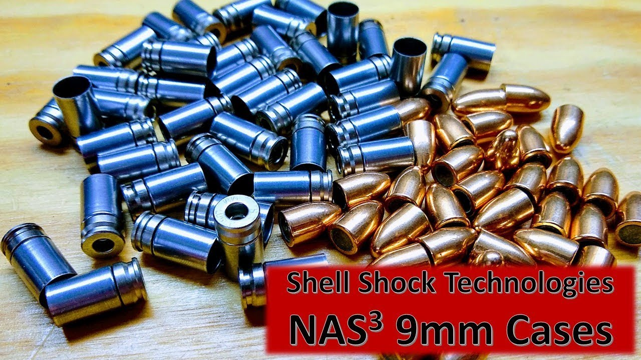 Shell Shock's NAS3 9mm Cases