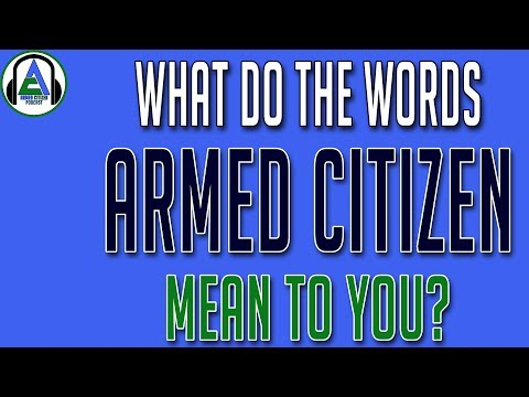 Why is Concealed Carry So Important?   The Armed Citizen Podcast