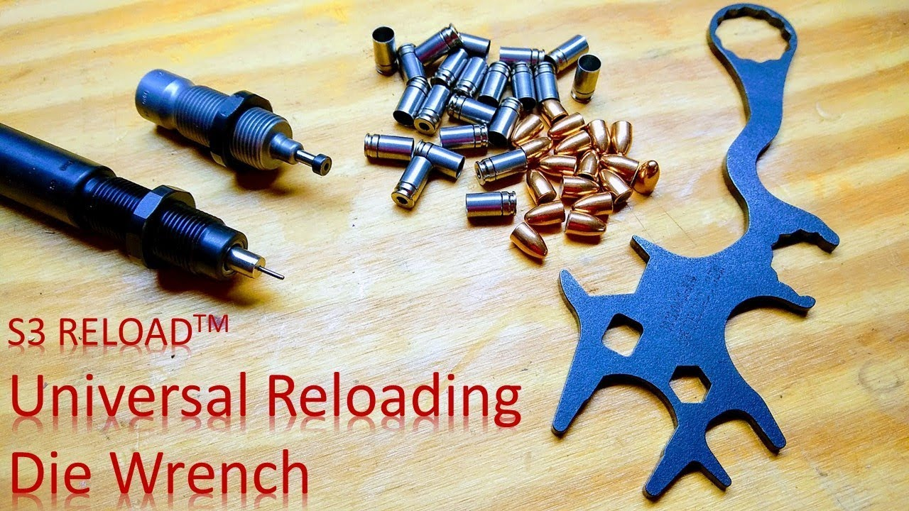 Universal Reloading Die Wrench from S3 RELOAD