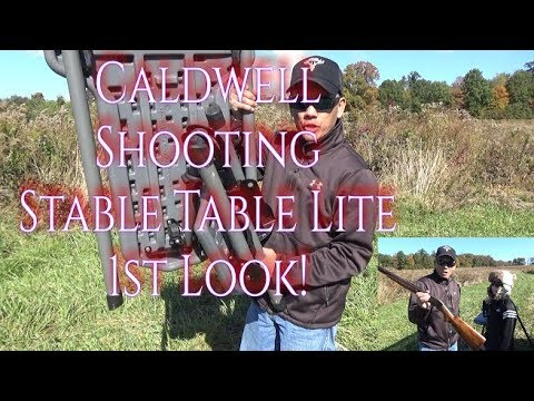 Caldwell Shooting Stable Table Lite 1st Look