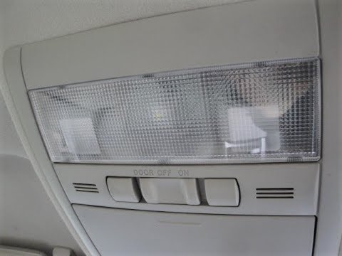 2007 Toyota Prius Changing Courtesy lamps to LED