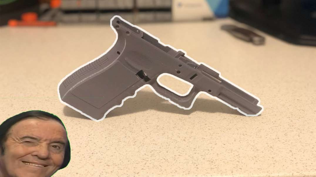 Budget 3D Printed Glock 17 Build Ep. 3: Cleaning up the Frame