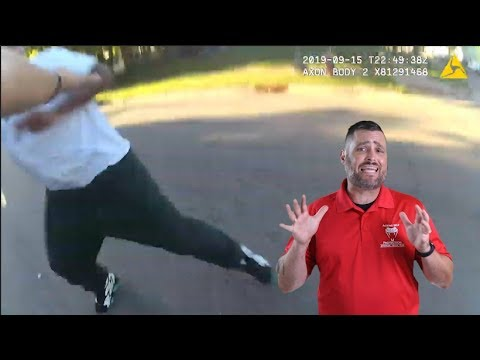 Minnesota Officer Faces A Chaotic Situation