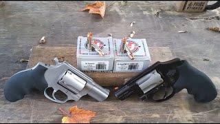 Snub Nose .38 Special Underwood Bonded VS Xtreme Defender