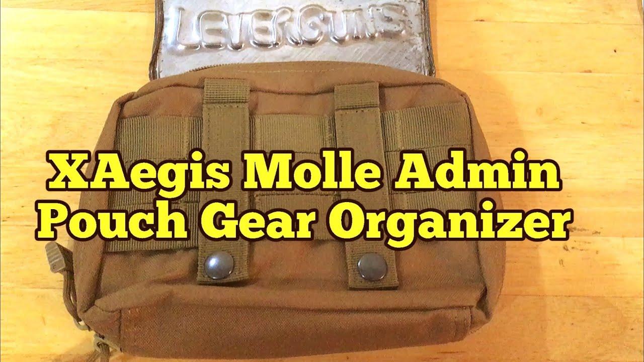 XAegis Molle Admin Pouch Gear Organizer review