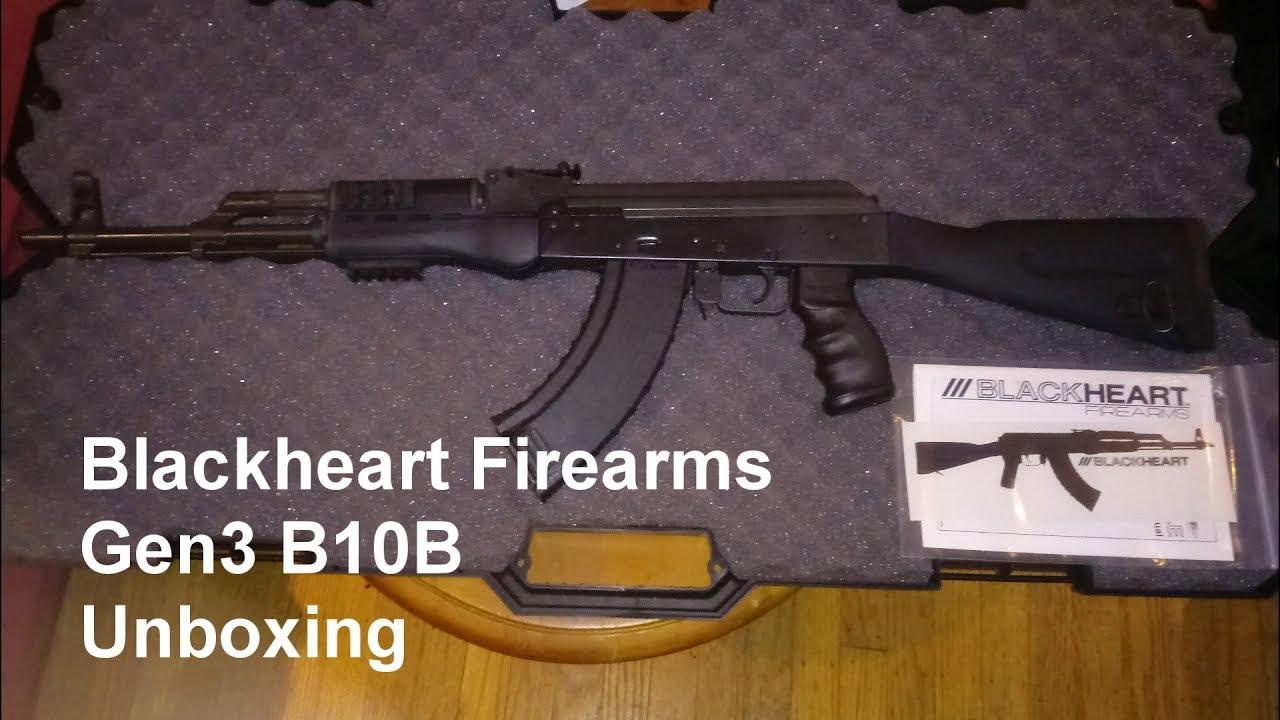Blackheart Firearms B10B AK 47 Unboxing