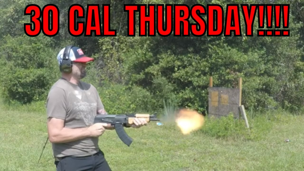 30 Cal Thursday One Time Event!!!