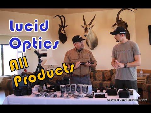 Lucid Optics Scopes, Red Dots, Binoculars and Spotting Scopes