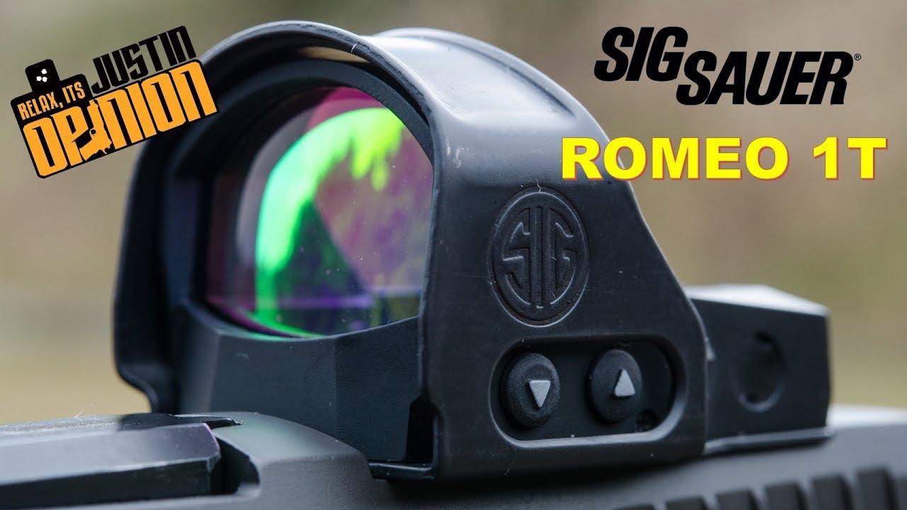 SIG ROMEO 1T - Tested on P320 X5 Legion