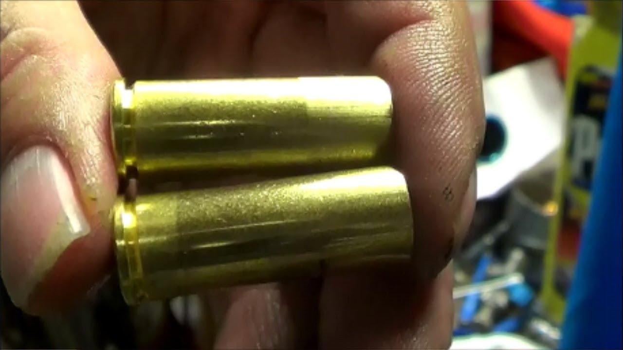 Resizing 45 Colt cases for 0.455