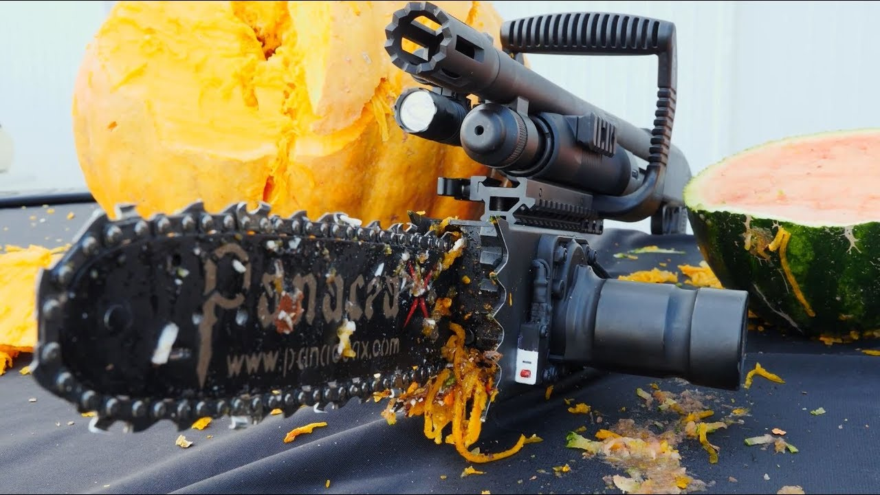 Testing the PanaceaX Chainsaw Bayonet 🎃