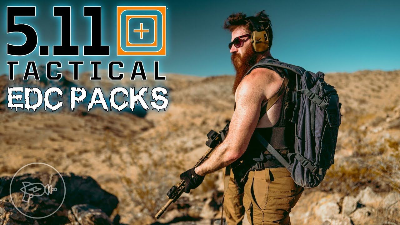 Bug-Out Bag Breakdown: 5.11 EDC Packs! [Review]
