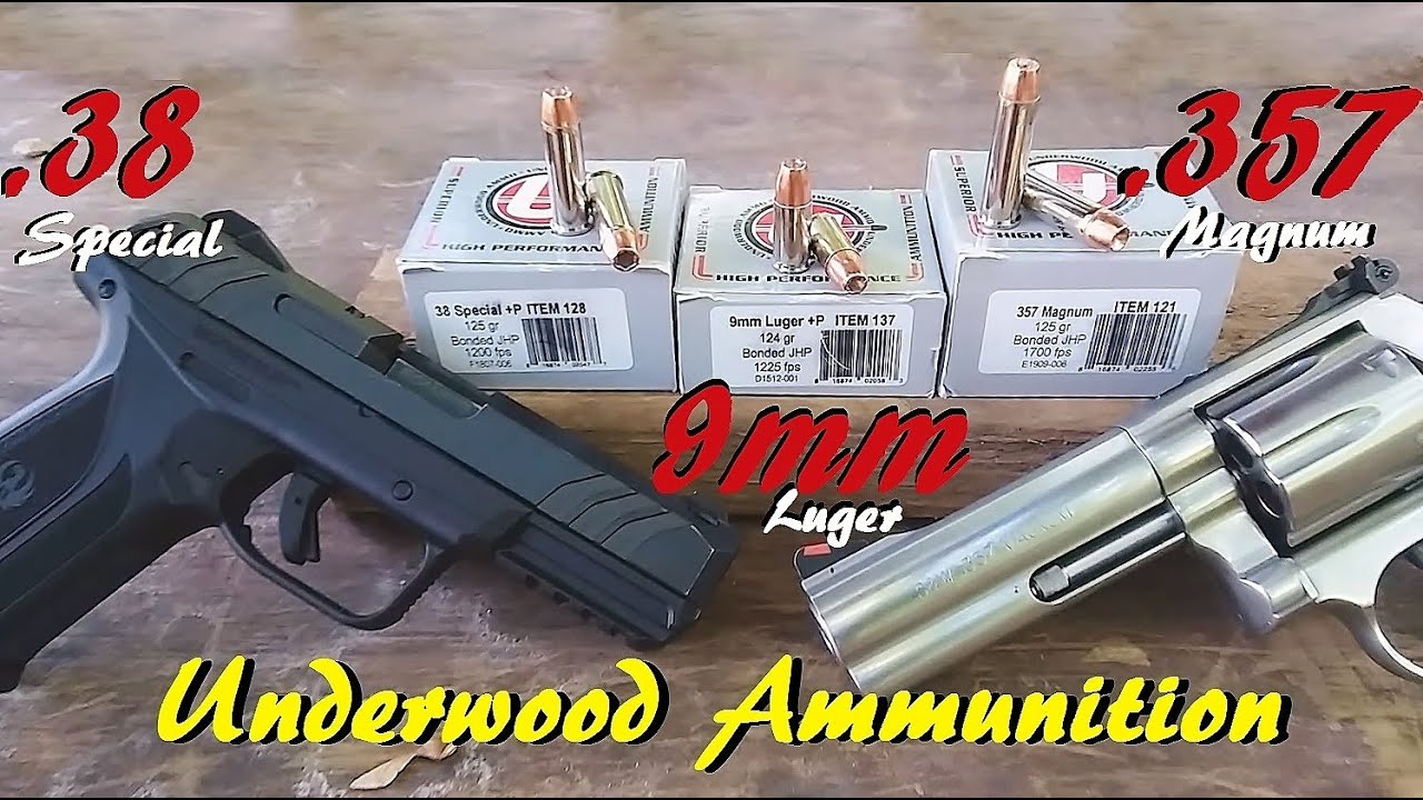 Does 9mm SPANK .38 Special and RIVAL .357 Magnum? Test 2 -Underwood Ammo