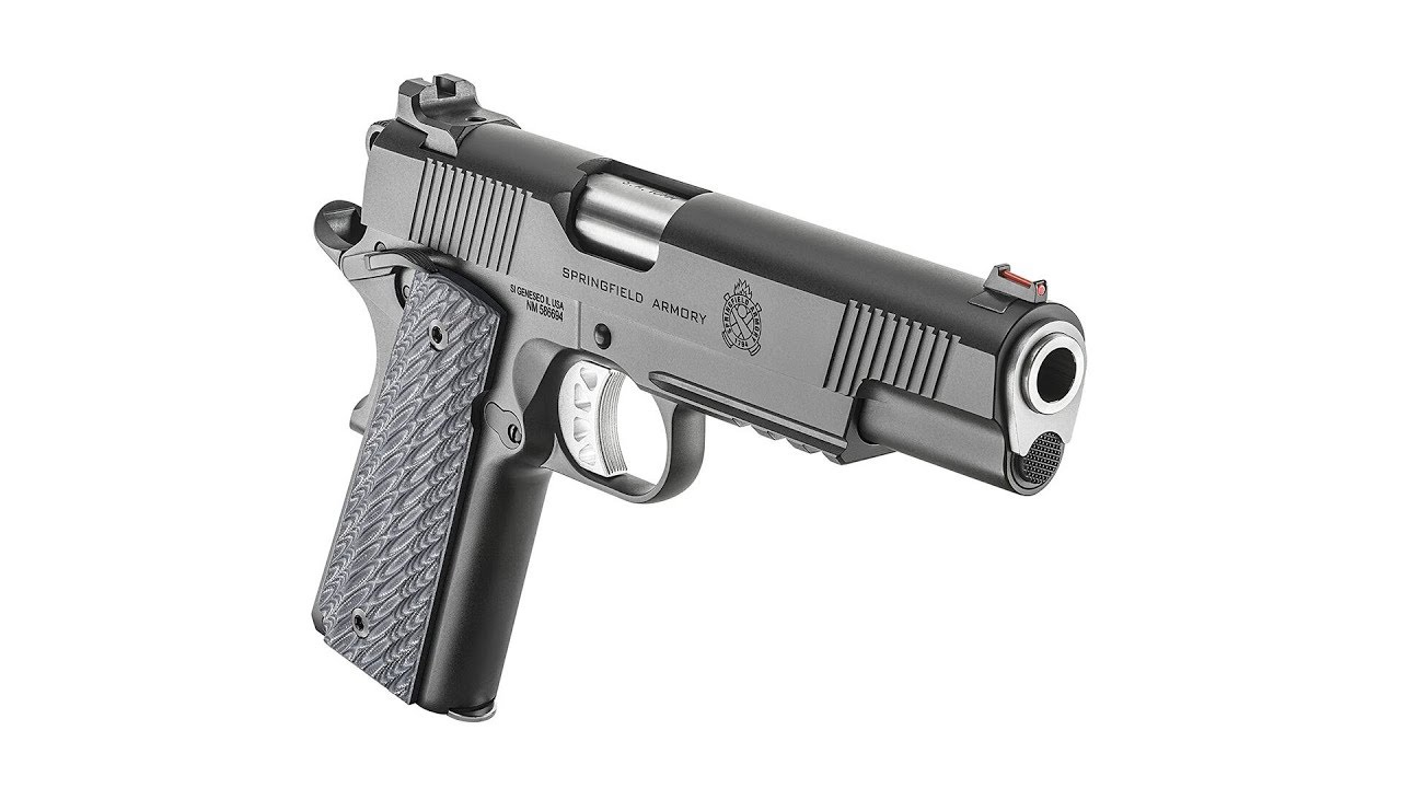 Introduction to the Springfield Armory Range Officer Elite Operator in 10mm