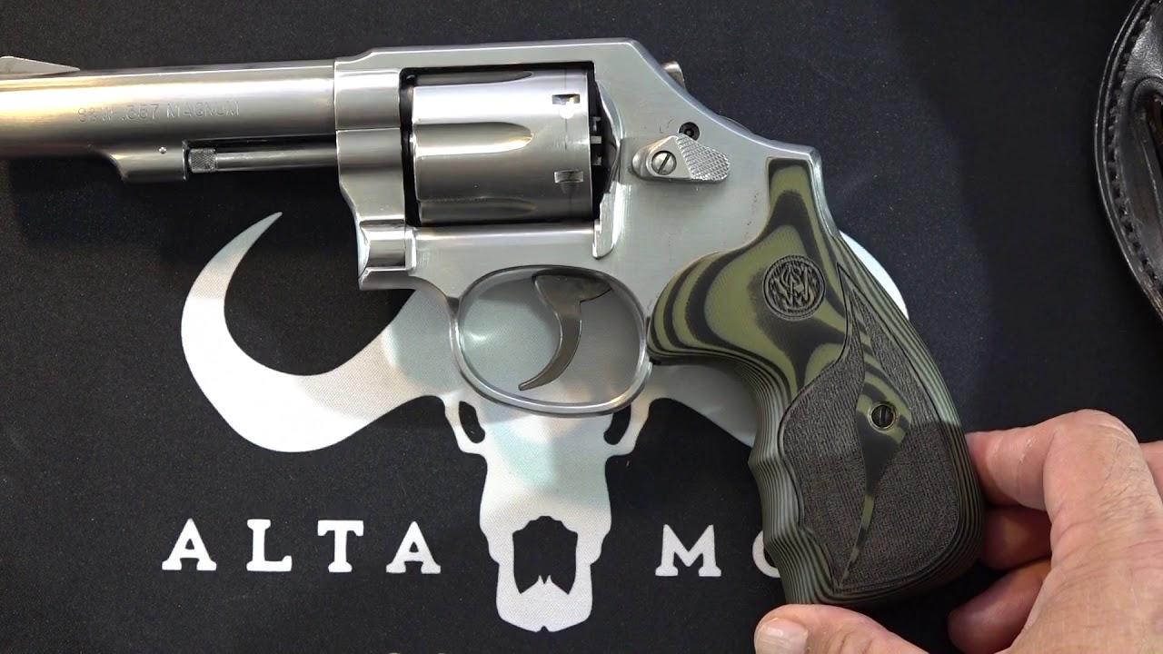 Altamont K U S&W G10 Revolver Grips