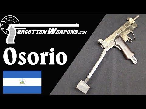 Osorio Selectiva: A Nicaraguan .22 Rimfire Machine Pistol