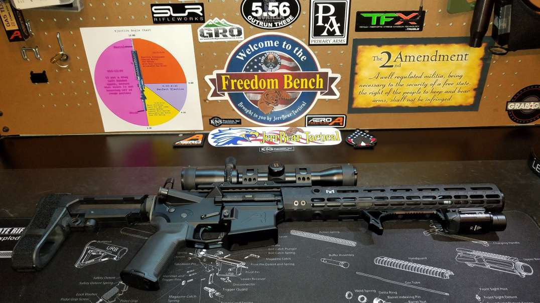 Aero Precision 300 AAC Blackout Pistol Completed Build Overview !