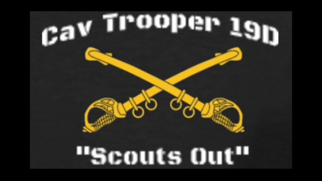 Cavalry Trooper 19D trailer