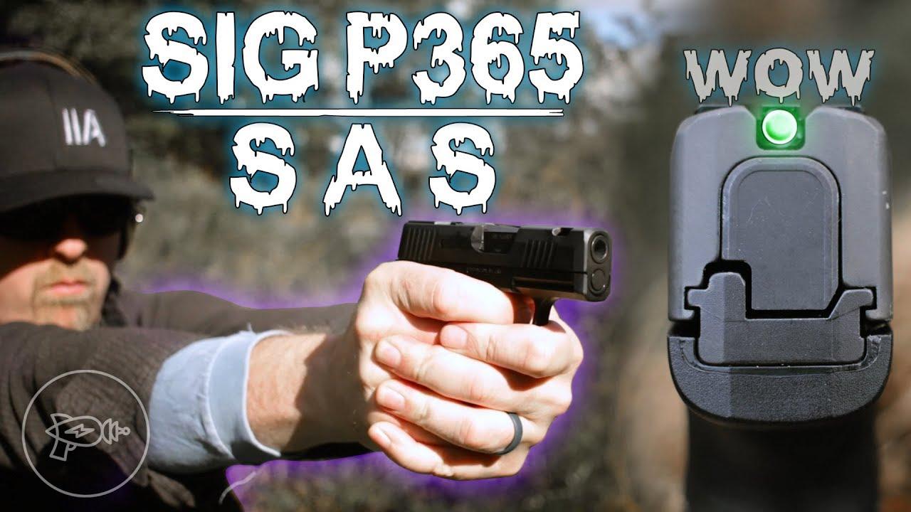 A Snag-Free Subcompact? 🤔 Sig Sauer P365 SAS [Review]