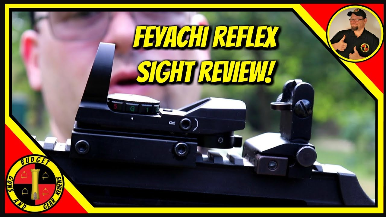 Feyachi Reflex Sight Review