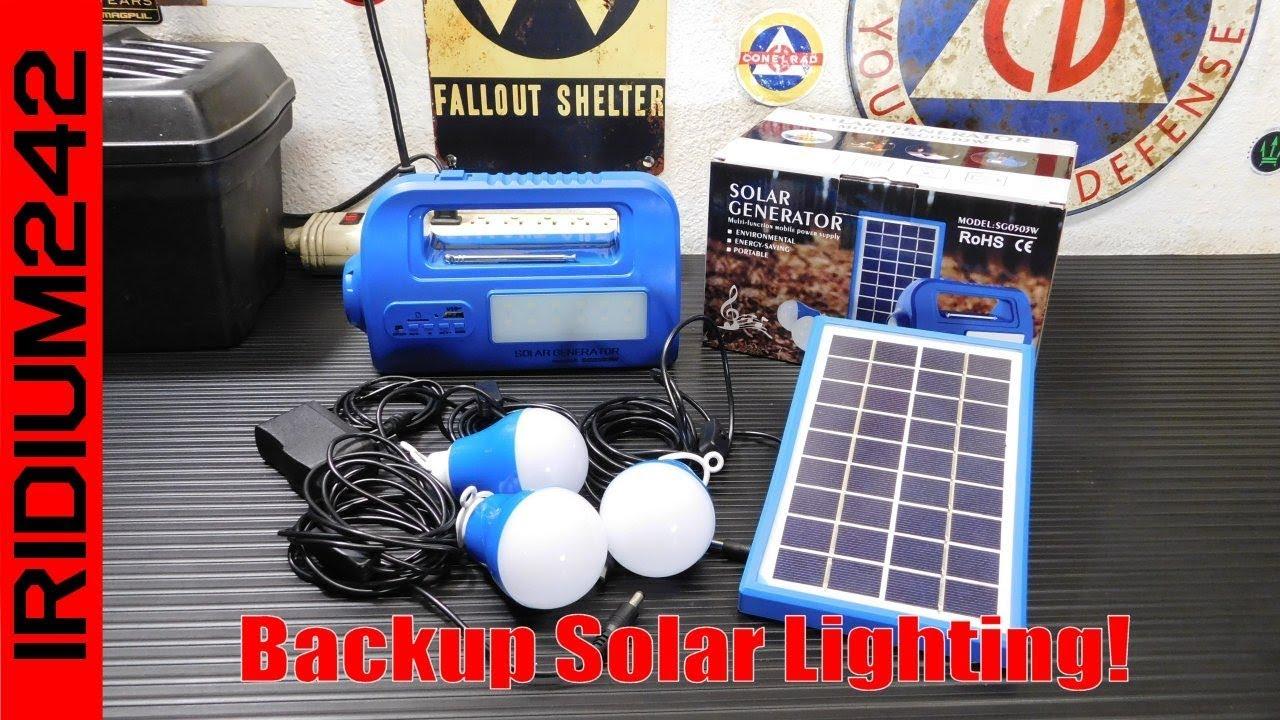 Goland Century Solar Emergency Lighting System