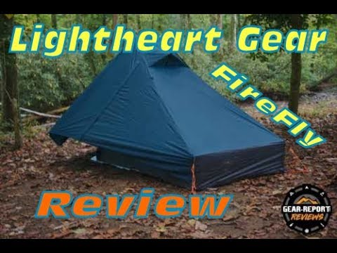 Lightheart Gear FireFly tent Review with Awning