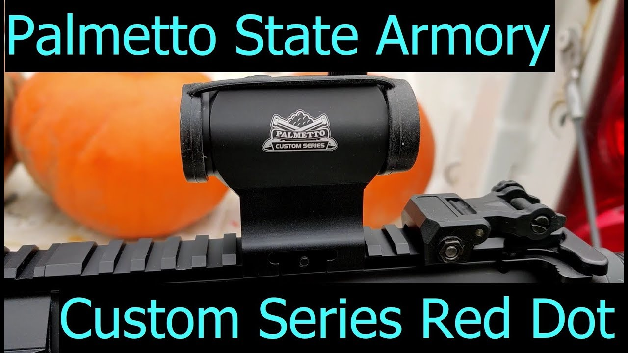 Palmetto State Armory Custom Series Red Dot
