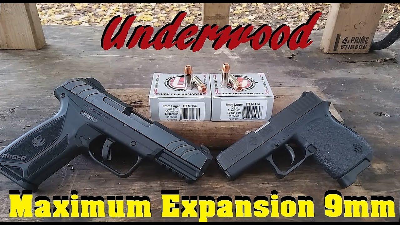 Underwood Maximum Expansion 9mm