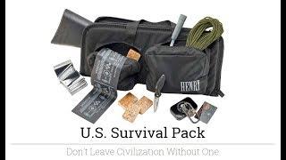 Henry Survival Kit Unboxing:  Part II