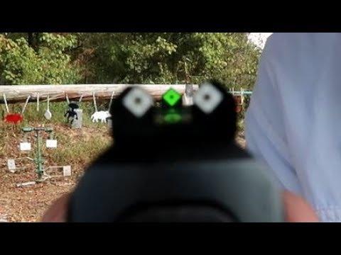 Honor Guard - Speed Sights - shooting steel