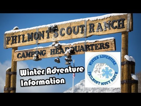 Philmont Scout Ranch Winter Adventure and Offseason Programs