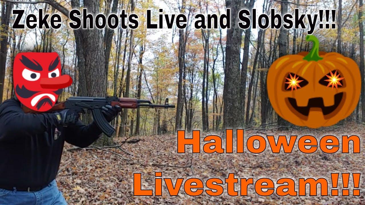 Halloween Livestream With Zeke Shoots!!!
