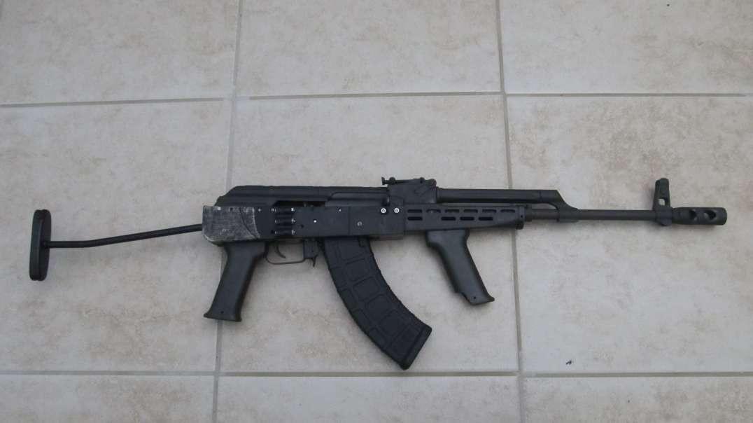 """Plastikov"" 3D Printed AK Receiver"