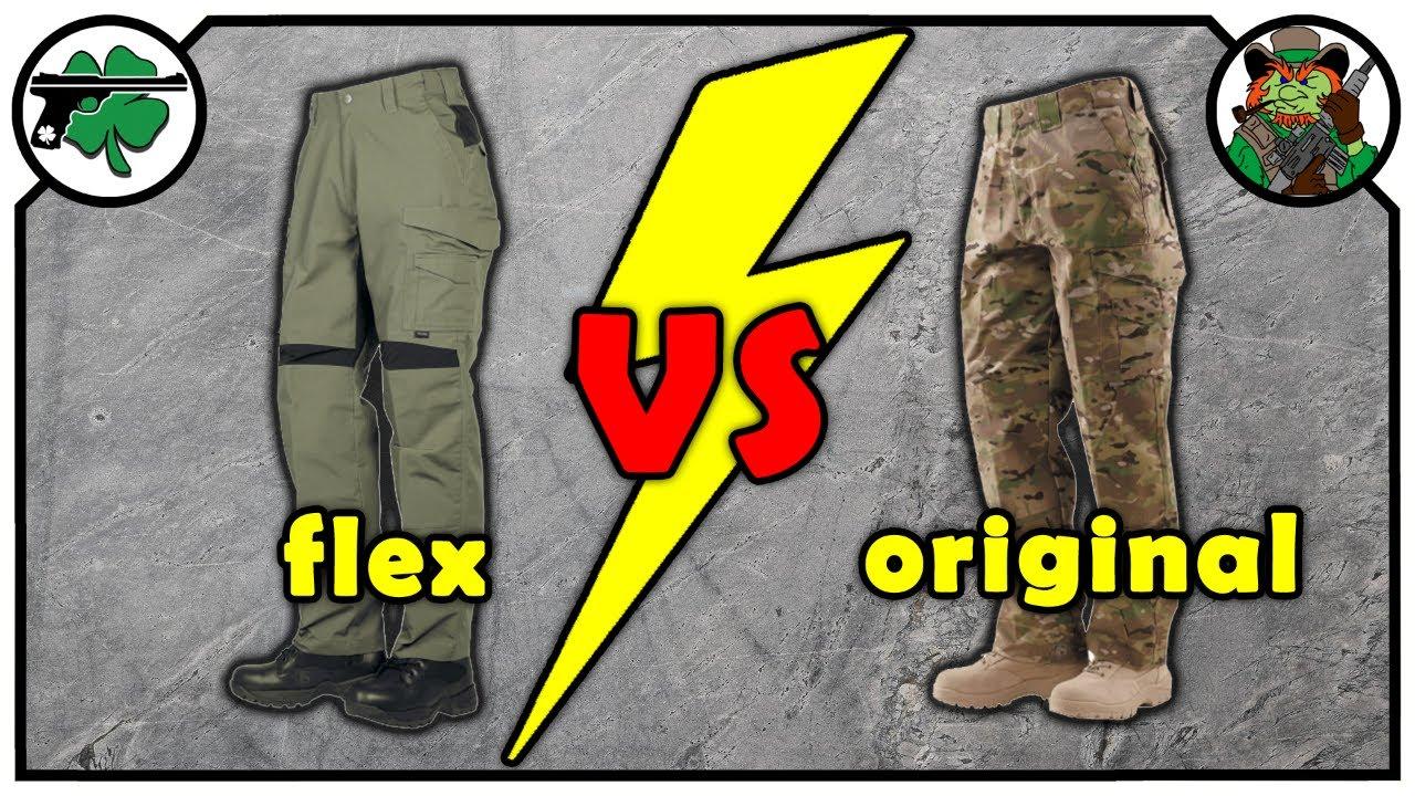 Tru-Spec 24-7 Series Pro Flex Pants -VS- 24-7 Series Original Pants
