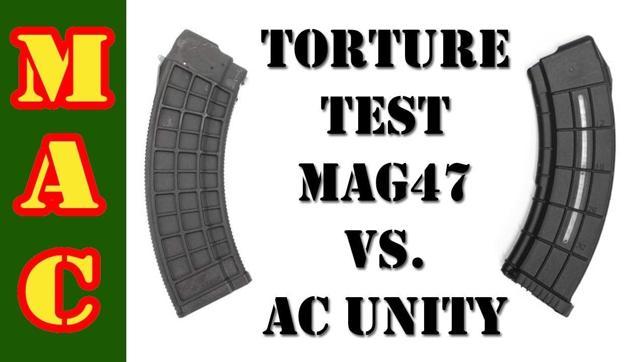 AK Mag Torture Test: AC Unity vs. XTECH MAG47
