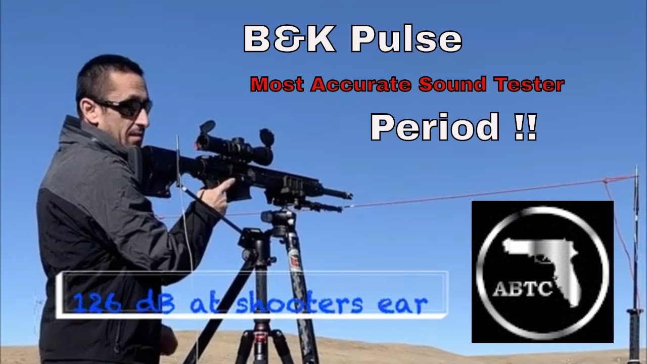 Suppressor Sound Testing Shooters Ear