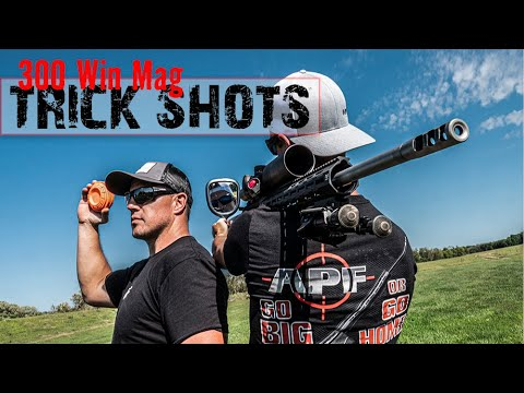 300 Win Mag Trick Shots | Gould Brothers