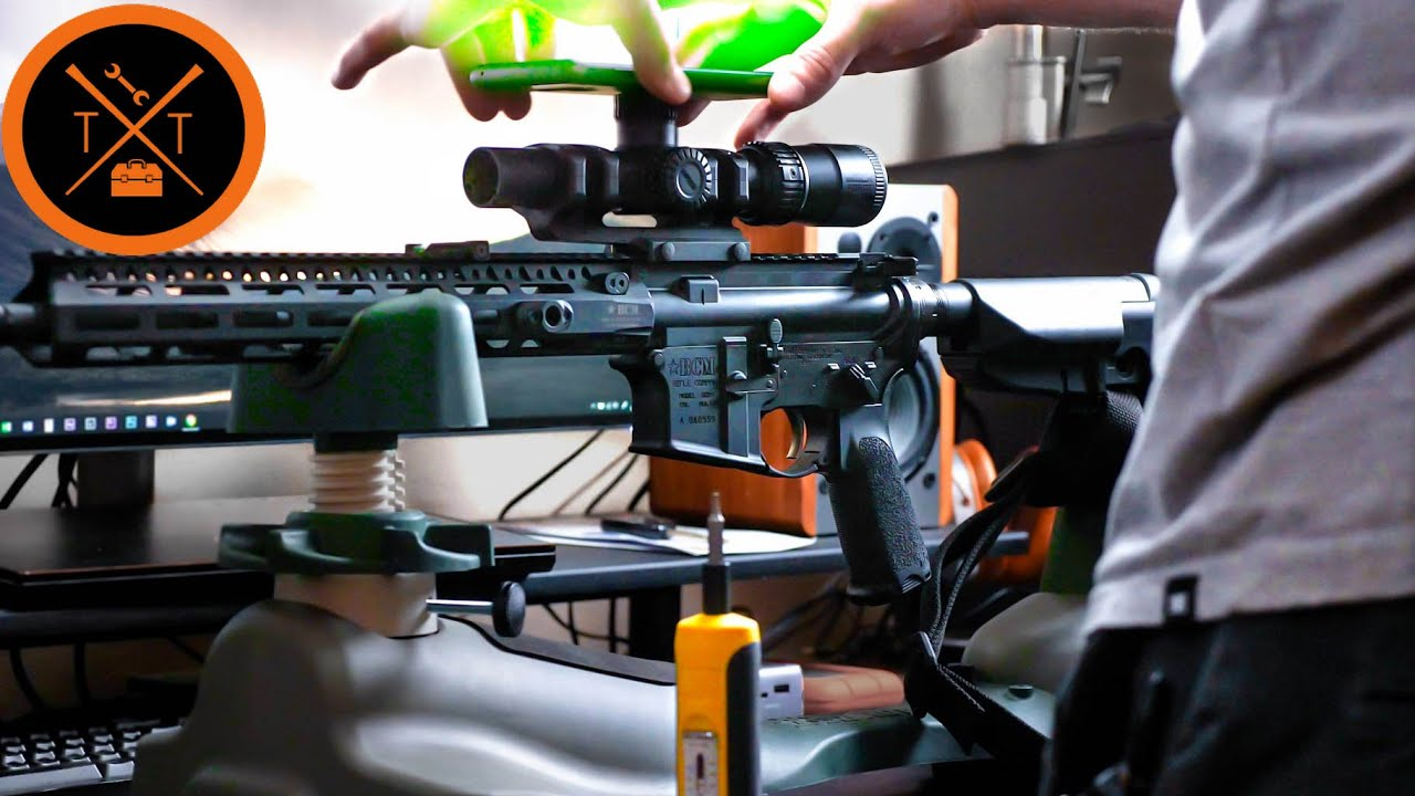 How-To Mount a Rifle Scope....(With a Smartphone??) (w/LINKS & CODES)
