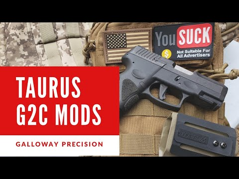 Taurus G2C Asmund Trigger, Guide Rod, and Holster: Galloway Precision