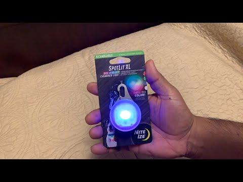 Spotlit XL carabiner light |  Niteize