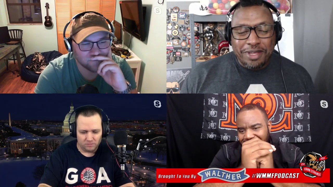 Podcast #456 We're Back! Kevin Dixie BFP Crump & Brownells Retro Scope Hank Strange WMMF Podcast