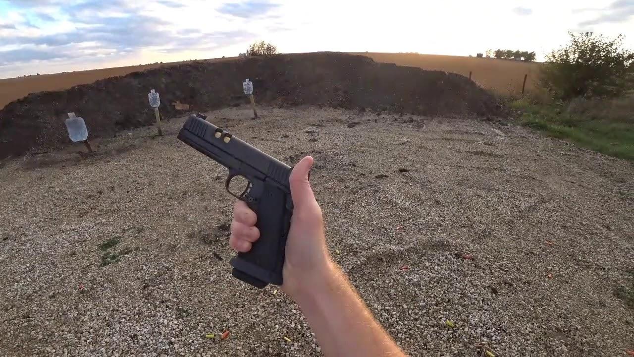 Hayes Custom RIA 2011 9mm POV Range Day