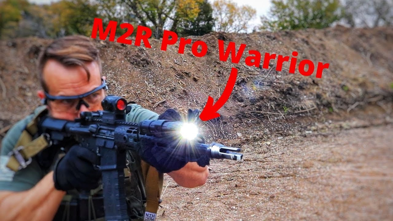Christmas Gift Idea Coming Early -- Olight M2R Pro Warrior