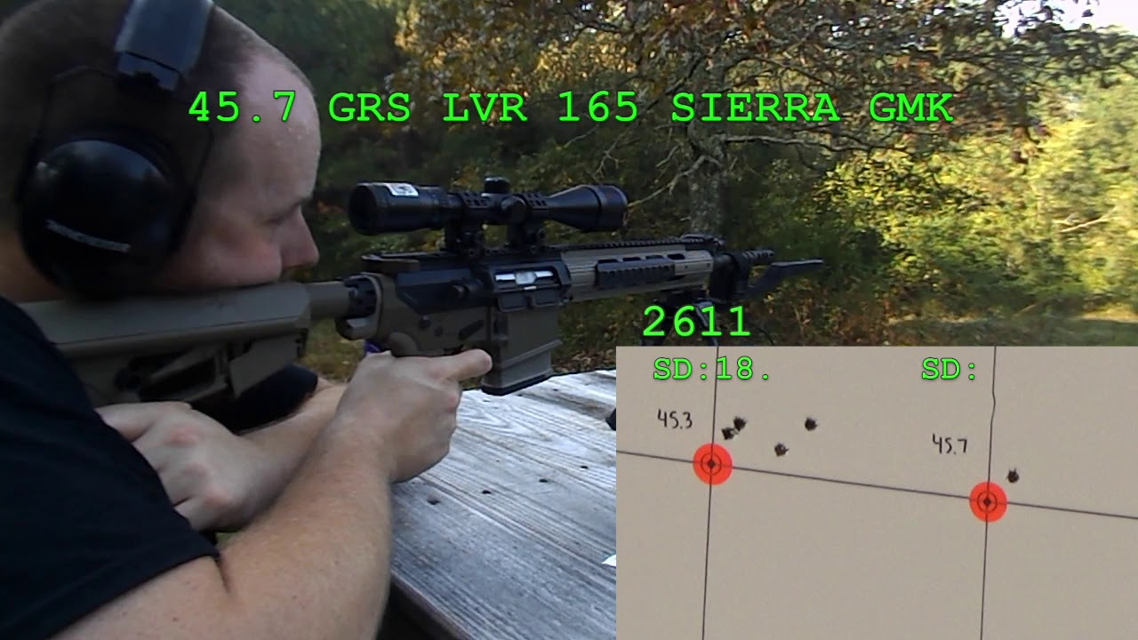 Leverevolution in an AR-10