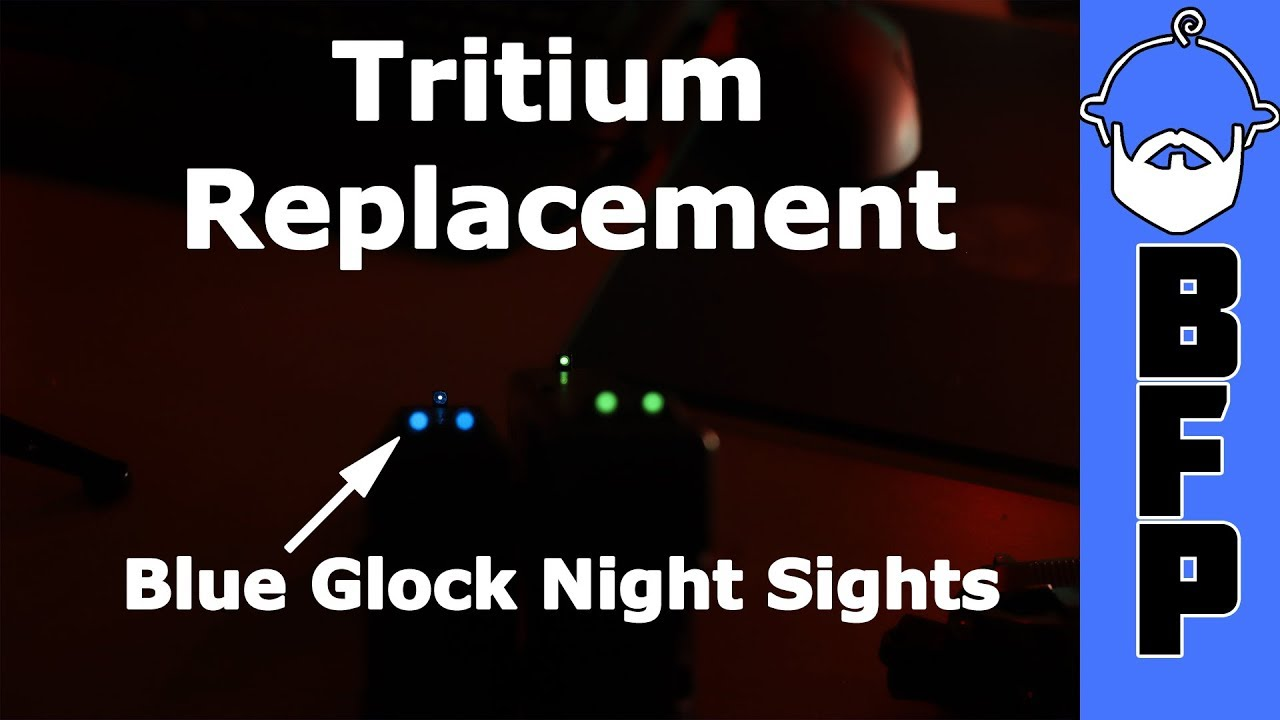 Replacing Tritium in Night Sights