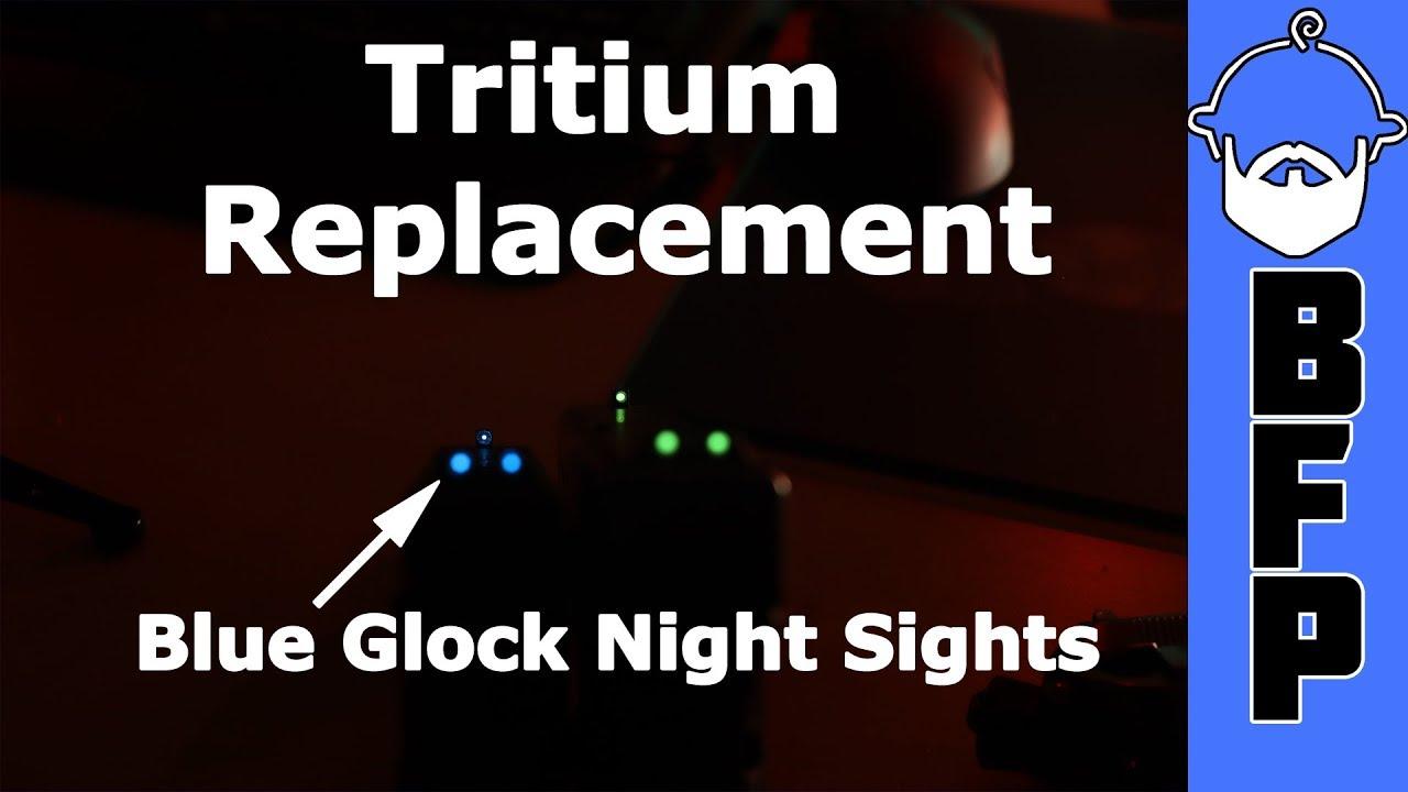 Replacing Tritium in Night Sights