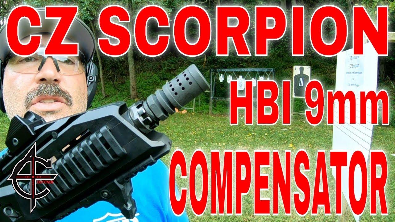 9MM Compensator | CZ Scorpion