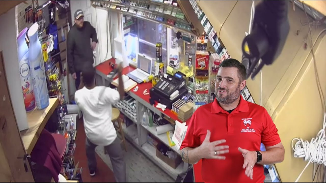 Dumb Robbers No Match for Angry Clerk