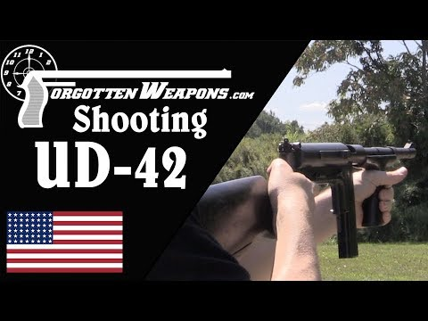 At the Range with the Marlin UD-42 SMG