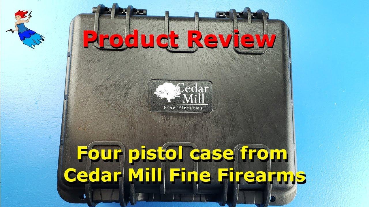 Cedar Mill Fine Firearms 4 pistol case review